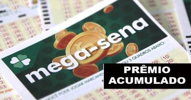Prêmio deste sábado da Mega-Sena é de R$ 23 milhões