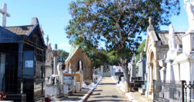 Cemitérios ficam fechados no Dia dos Pais