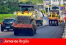 Avenida Tenente Marques é recapeada em Cajamar
