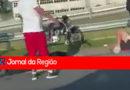 Dois ficam feridos em acidente de moto na Anhanguera