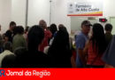 Centenas de pessoas vão à Farmácia de Alto Custo