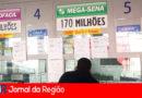 Mega-Sena sorteia prêmio de R$ 170 milhões hoje