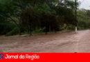 Rio Jundiaí transborda em Campo Limpo