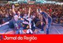 Milhares acompanham show do Sampa Crew