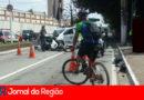 Policiais sofrem acidente no Centro de Jundiaí