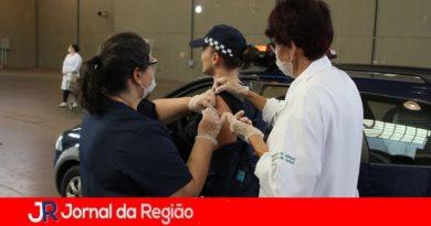 500 profissionais da segurança são vacinados contra gripe