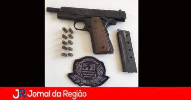 DIG apreende pistola em casa de Cabreúva