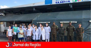 Exército auxilia na montagem de 'Sentinela' na Clínica da Família