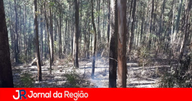 Guarda controla incêndio na Serra do Japi