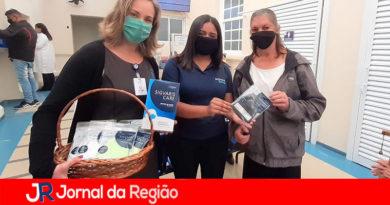 Empresa suíça doa máscaras para pacientes do São Vicente