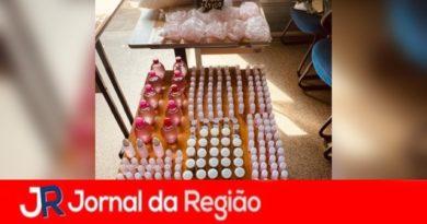 Guarda apreende lança perfumes no Tamoio