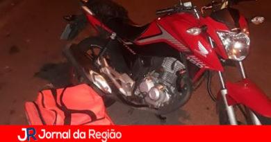 Motoboy tem moto roubada na Vila Rami