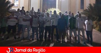Torcedores do Palmeiras fazem ação social