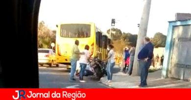 Motociclista sofre acidente grave no Jundiaí Mirim
