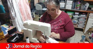 """Artesãs do """"Jundiaí Feito à Mão"""" doam máscaras"""