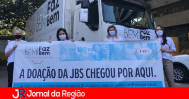 JBS entrega 50 mil máscaras e luvas para a Saúde de Jundiaí