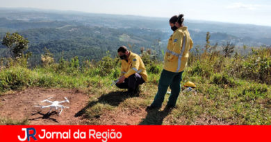 Drone ajuda a monitorar a Serra do Mursa