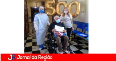 São Vicente registra 500 altas de pacientes com Covid-19