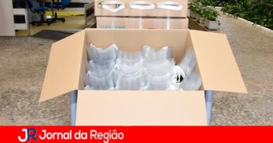 Jundiaí recebe 800 protetores faciais da Siemens Brasil