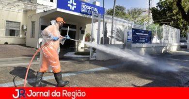 Jundiaí intensifica a desinfecção de hospitais e espaços públicos