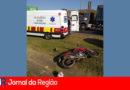 Motociclista sofre acidente grave na Dom Gabriel