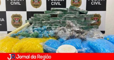 DISE apreende 38 Kg de drogas em Jundiaí