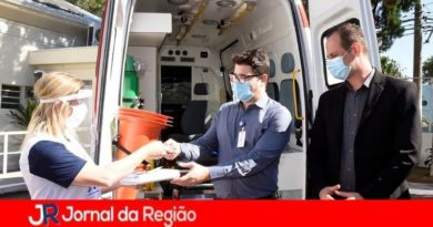 São Vicente recebe doação de ambulância