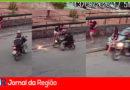 Motoqueiro tenta praticar roubo em Jundiaí