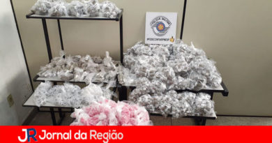 PM apreende mais de 5 mil porções de drogas em Jundiaí