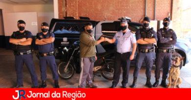 Vigilante agradece guardas que acharam a sua moto furtada