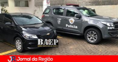 BAEP prende morador de Jundiaí com carro roubado