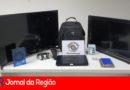 PM recupera eletrônicos furtados de residência no Bonfiglioli