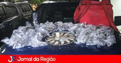 Guarda apreende 1.700 porções de drogas na Vila Esperança