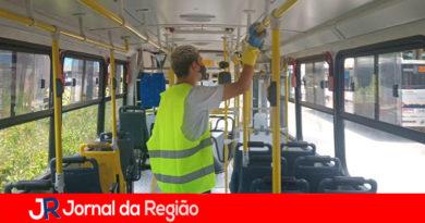 Rápido Luxo intensiva higienização dos ônibus