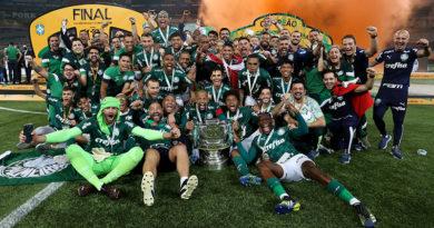 Palmeiras é Tetra Campeão da Copa Brasil