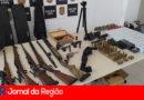 Arsenal apreendido em Jundiaí pela DIG tinha até armas da Rússia