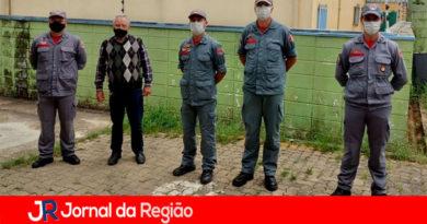 Bombeiros vistoriam área para quartel em Várzea Paulista