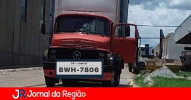 Caminhão de Jundiaí é levado por ladrões
