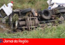 Caminhoneiro morre em acidente na Anhanguera, em Cajamar