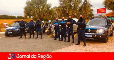 Guardas municipais prendem ladrões de estepes