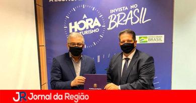 Marcão pede em Brasília classificação de Itupeva como cidade de interesse turístico