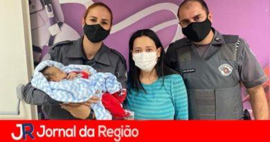 PMs do 11° Batalhão salvam a vida de bebê
