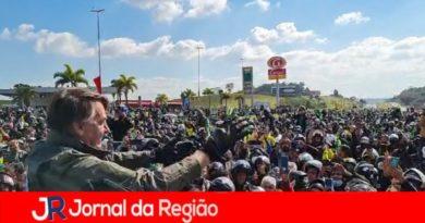 Bolsonaro multado por não usar máscara