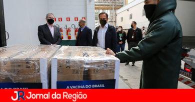 Doria acompanha entrega de mais 2 milhões de doses da Coronavac