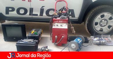 Ladrão é preso por furto de ferramentas