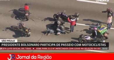 Vítima de acidente na Motociata de Bolsonaro passa por cirurgia