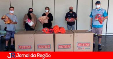 Campanha do agasalho em Campo Limpo Paulista. (Foto: Divulgação)