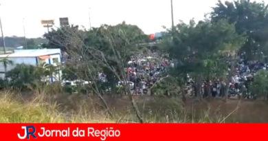 Aglomeração no Complexo Serra Azul. (Foto: Reprodução)