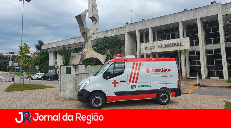 Nova ambulância em Campo Limpo Paulista. (Foto: Divulgação)