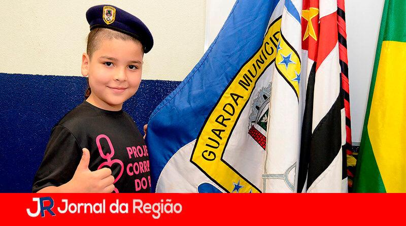 GCM Amiga em Várzea Paulista. (Foto: Divulgação)